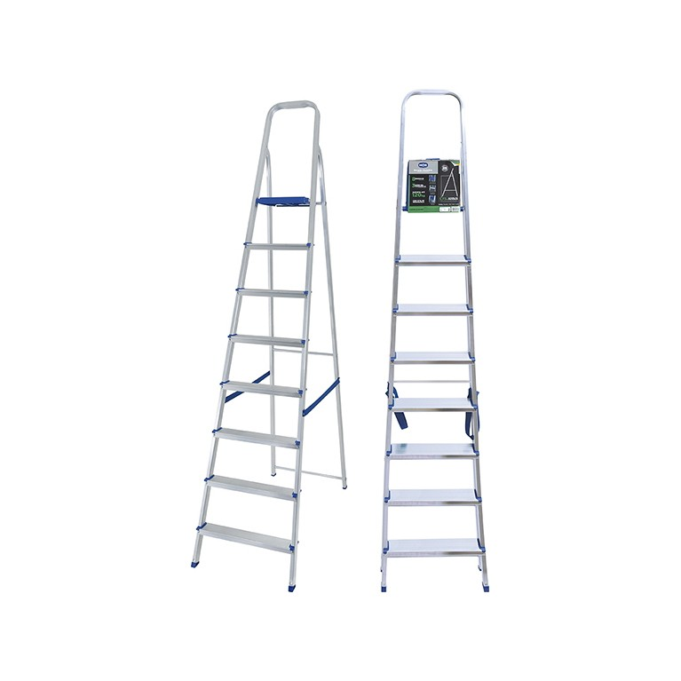 Escada Alumínio 8 Degraus Mor
