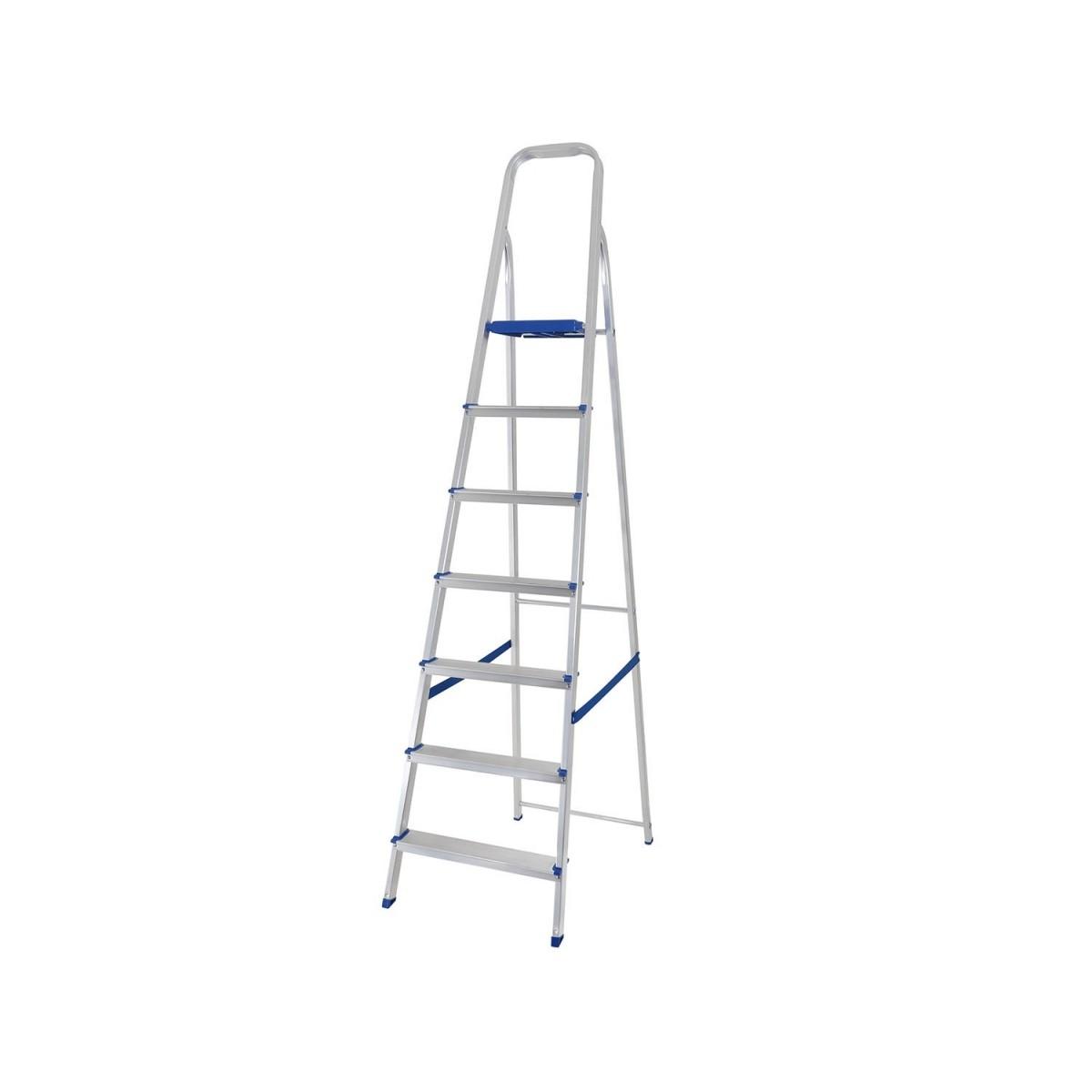 Escada de Alumínio 7 Degraus Mor