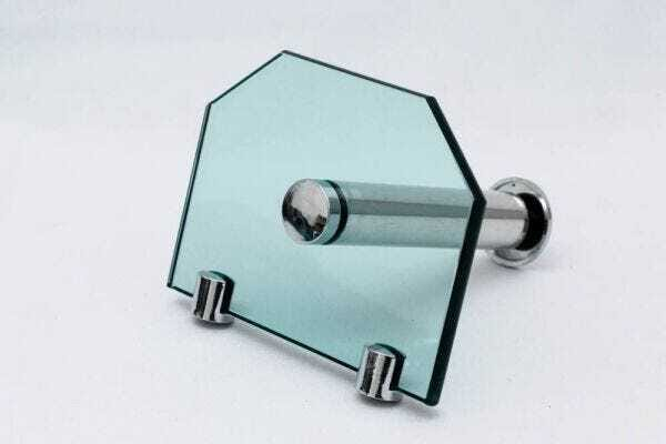 Kit de acessórios para banheiro de vidro Vitru Colorati Verde