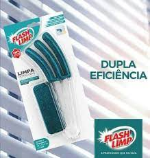 Limpa Persiana De Microfibra Flash Limp
