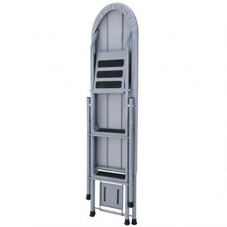 Mesa de Passar e Escada Ideal Cinza - Mor