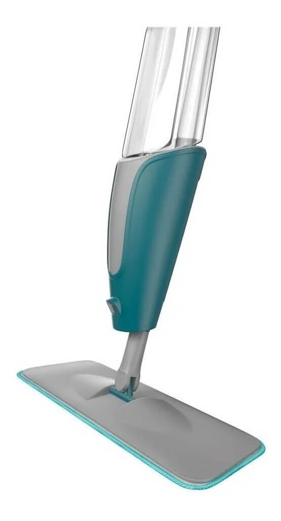 Mop Spray Mágico com reservatório refil de microfibra Flash Limp