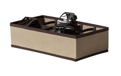 Organizador em tecido para gavetas 10 compartimentos
