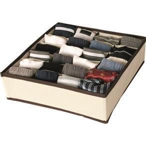 Organizador em tecido para gavetas 15 compartimentos