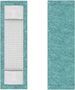 Refil para Mop Flat Microfibra Verde FlashLimp