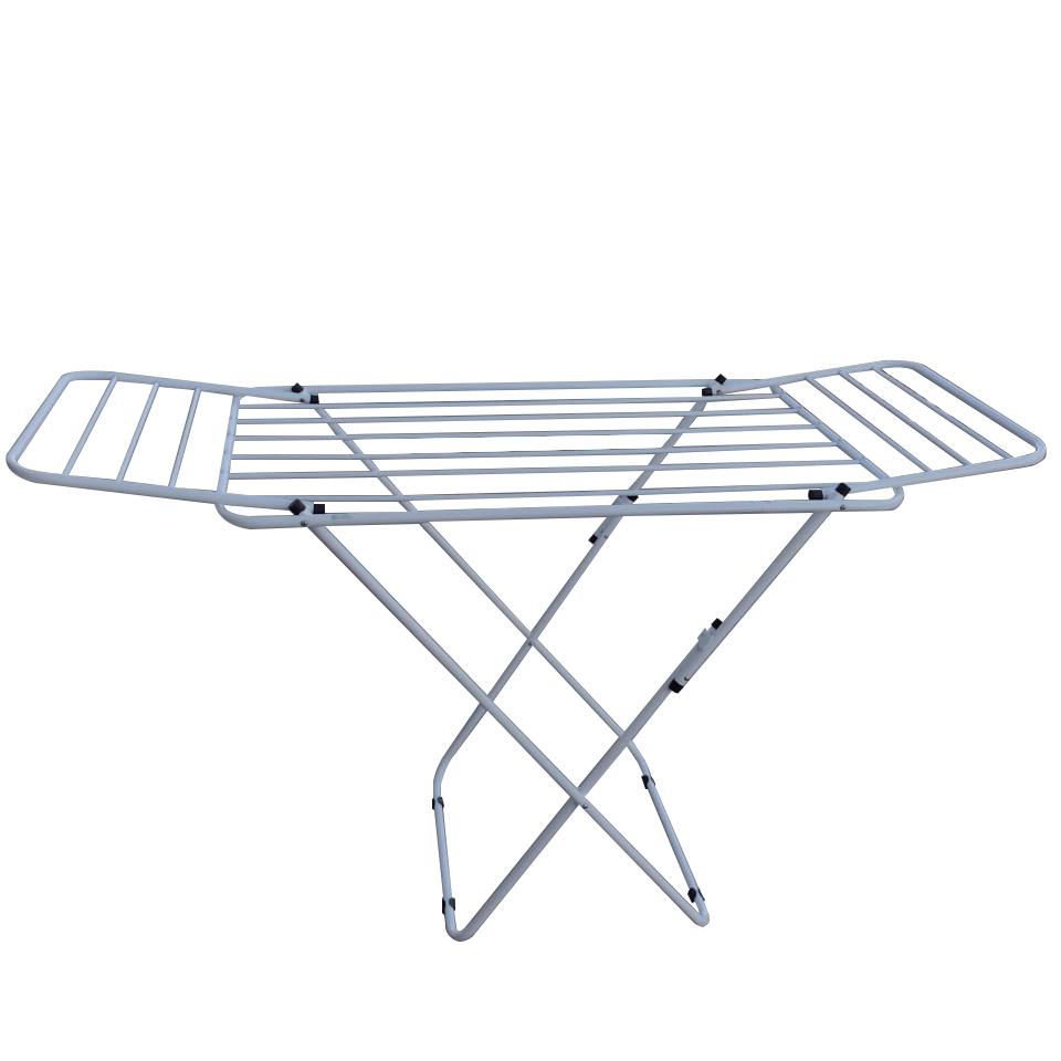 Varal de chão com abas alumínio Multivarais - Branco