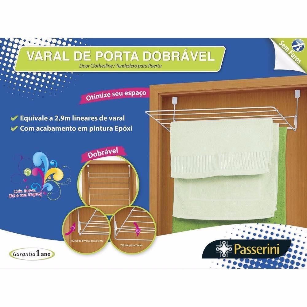 Varal de porta dobrável - Passarini