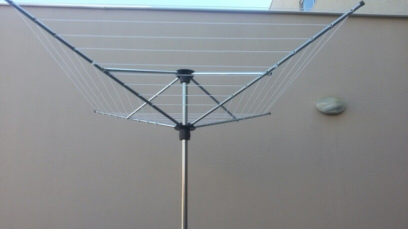Varal Giratório 9 cordas em aço POP - Multivarais