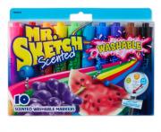 Marcador perfumado lavável Mr. Sketch - 10 cores