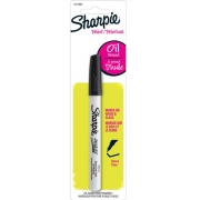Marcador permanente Sharpie base óleo Extrafino Preto