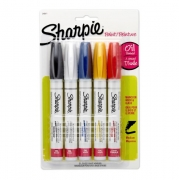 BLISTER C/5 MARCA TEXTOS SHARPIE OIL PAINT MEDIA SORT
