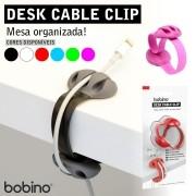 """Organizador de cabos para mesa - """"Desk Cable Clip"""""""