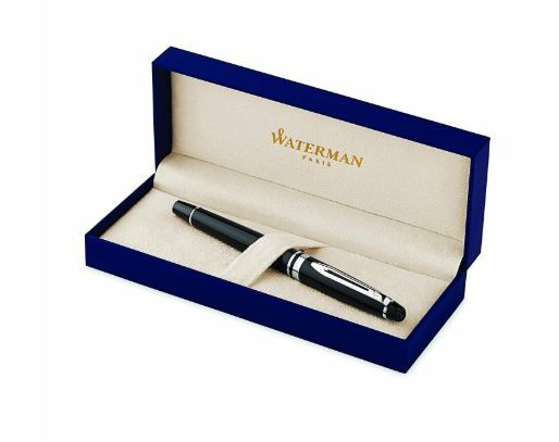 Caneta Roller Ball Waterman Expert III Negra CT S0951780