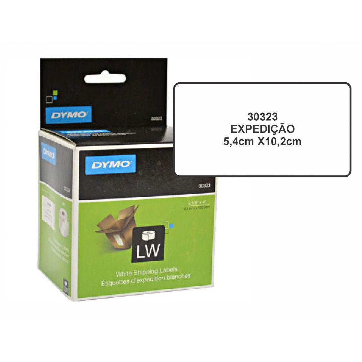 Etiqueta p/ impres.térmica 5,4x10,2cm (rl c/220un)