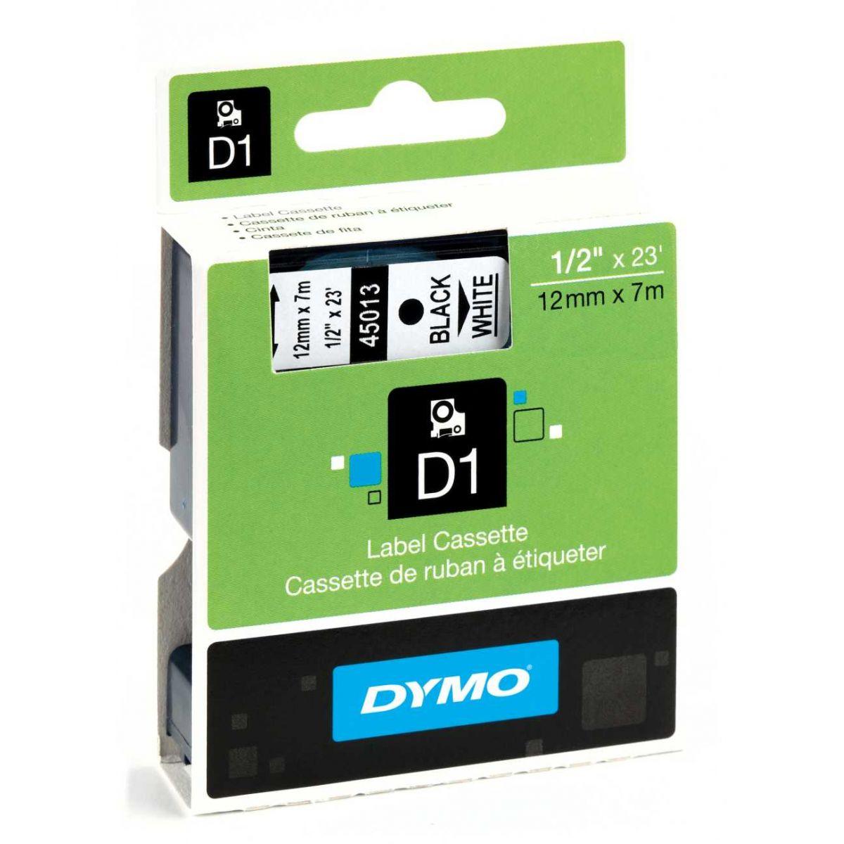 Fita para rotulador eletrônico PROFISSIONAL 12mmx7mt PT/BR