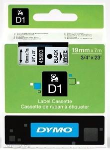 Fita Poliéster Dymo auto-adesiva p/ Rotulador Eletrônico Profissional (19mm x 7 mts) PT/BR