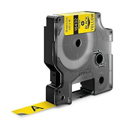 Fita Vinilica / PVC adesiva para Rotulador RhinoPro/3M (12mm x 5,5m) PT/AM