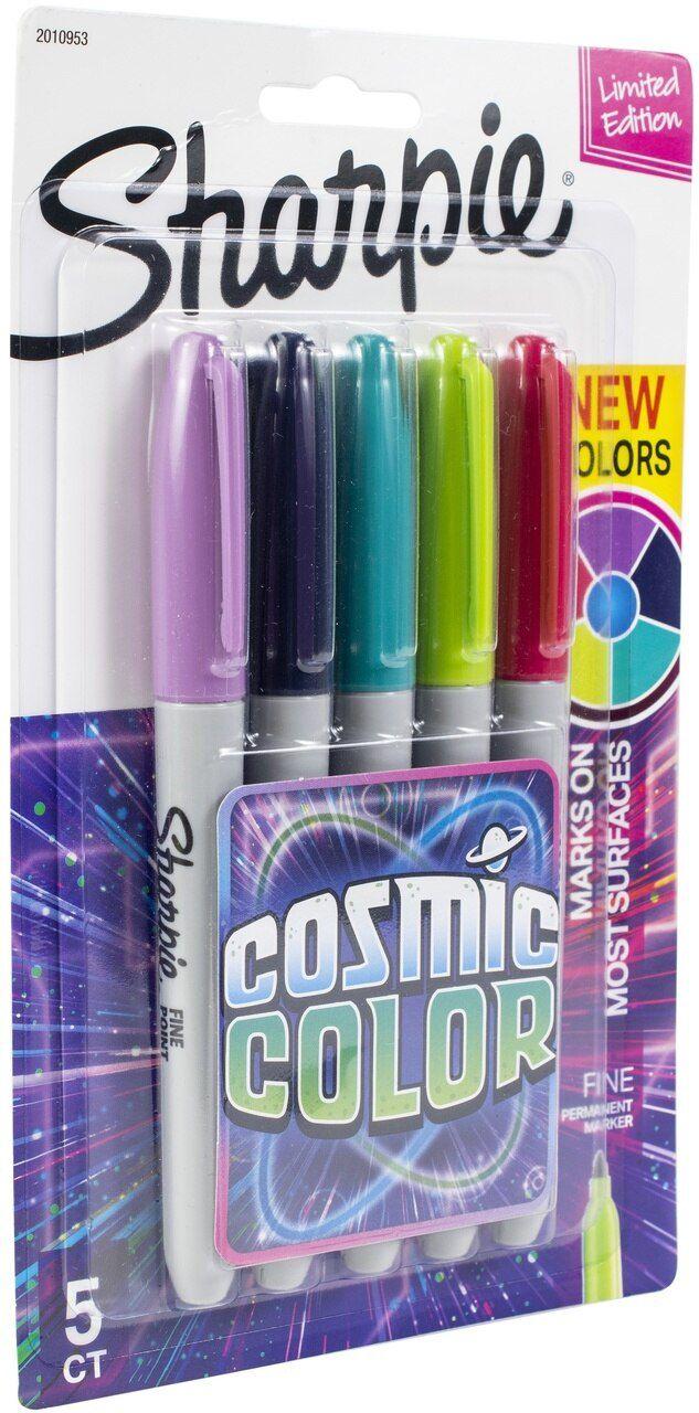 Marcador Permanente Sharpie Cosmic Colors C/05