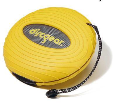 PORTA CD-DVD DISCGEAR SPORT AMARELO CAP.20 UN.