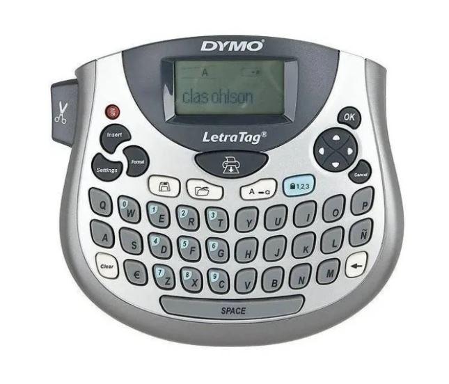 Rotulador Eletrônico Letratag  LT100T - Prata