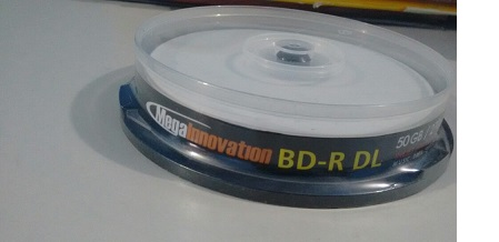 10 BLURAY 50 GB MEGAINNOVATION