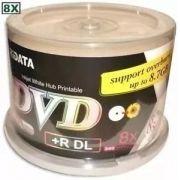 50  DUAL LAYER RIDATA  8X  PRINTABLE  P XBOX  (ID S044 -066)