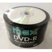 100  DVD- R MAXIPRINT 16X  COM LOGO