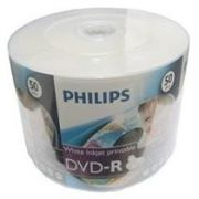 50 DVD-R PHILIPS PRINTABLE 16X