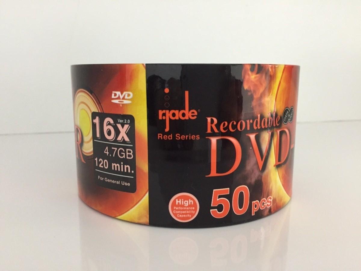 50 DVD-R JADE 16X LOGO 4.7GB