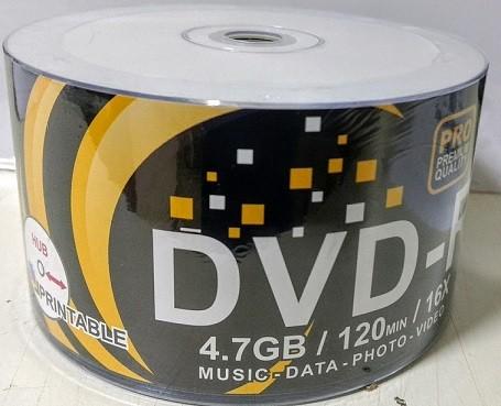 50 DVD-R MEGAINNOVATION PRINT. 16X MANDE TAIWAN