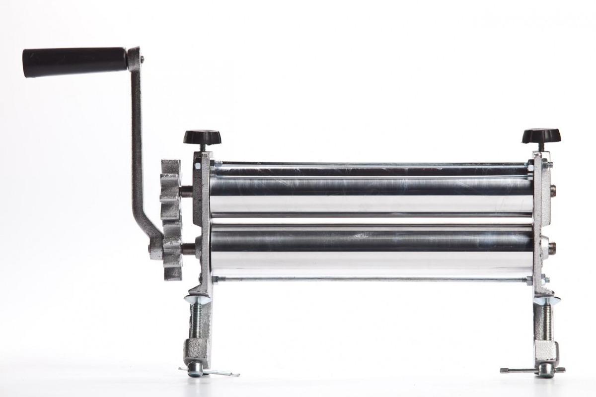 Cilindro de massas em aluminio - Manual com prendedor - Botini