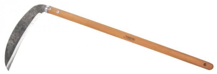 Foice para Arroz, com cabo de madeira