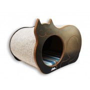 Nicho Casinha Cama Toca para gato - Dream´s  Cat  - Preto