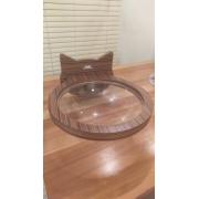 Nicho Prateleira e Cama para Gato - Bubble Bed