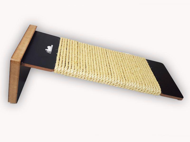 Arranhador Rampa de Sisal para gatos - Ramp Cat - Preto