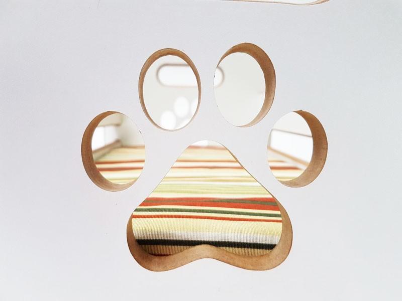 Cama Toca para Gatos Petit Box  - Branco
