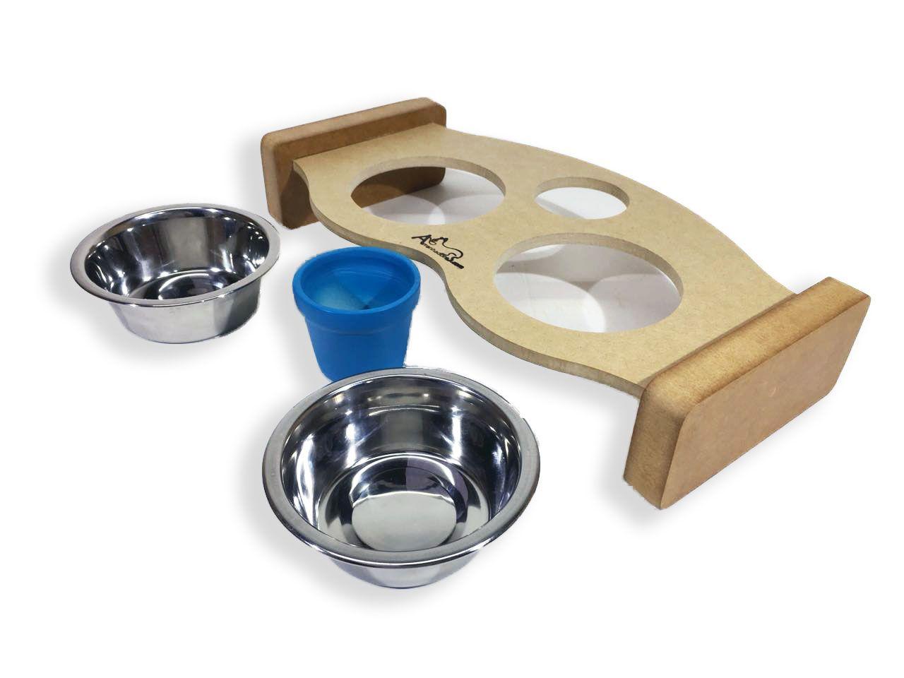 Comedouro Inox para Gatos - Essential