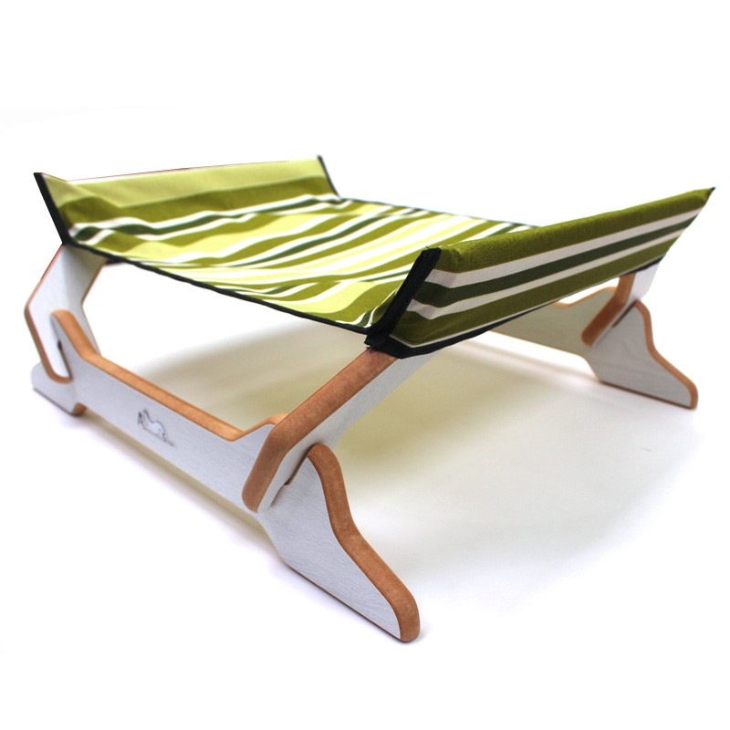 Espreguiçadeira para gatos Floor Guarapua Verde