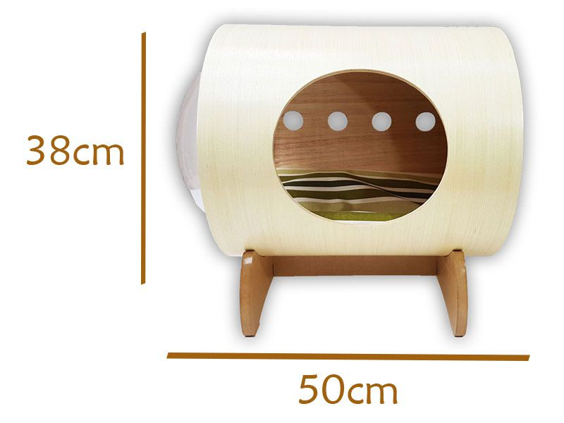 Nicho Casinha Cama Toca para gato - Bubble Cat com Base