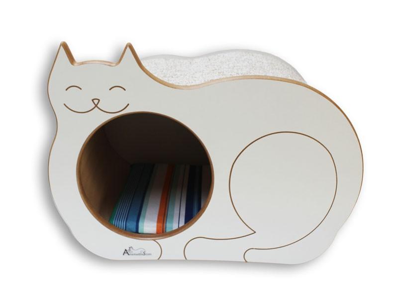Nicho Casinha Cama Toca para gato - Dream´s  Cat  - Branco