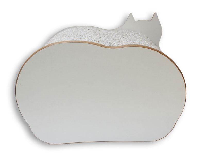 Nicho Casinha Cama Toca para gato - Dream´s  Cat  - Branco - Ilhabela Marrom
