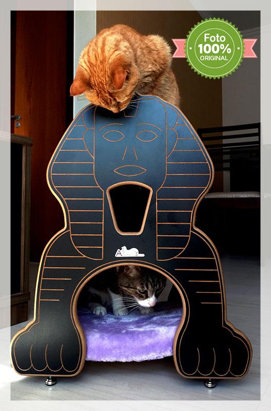 Nicho para gatos Esfinge linha Monumental