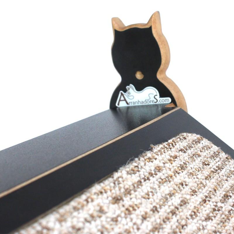 Rampinha Para Gatos Linha Classic - Preta
