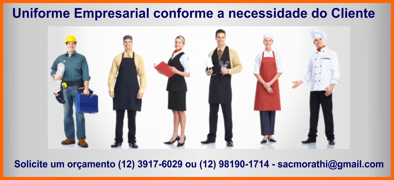 confeccionamos uniforme da sua empresa conforme sua necessidade