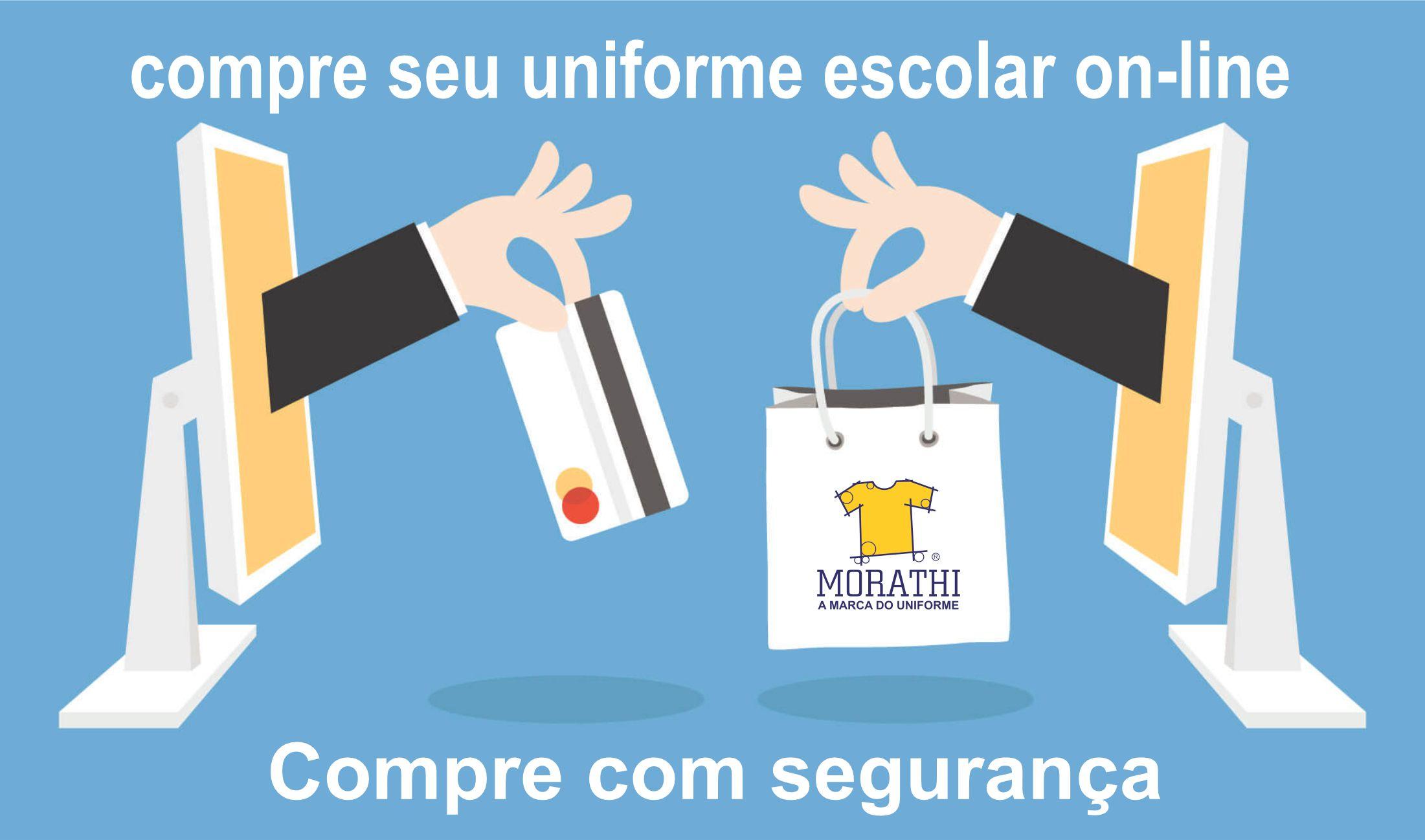 compre com segurança on-line