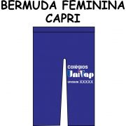 Bermuda Capri Univap 6 ao Técnico