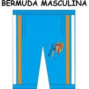 Bermuda Masculina Pintando o 7