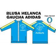 Blusa Helanca Gaucha Adidas Aberta Azimute