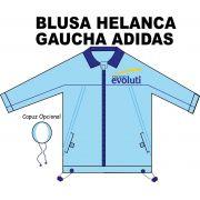 Blusa Helanca Gaucha Adidas Aberta Evoluti
