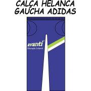 Calça Helanca Gaucha Adidas Avanti